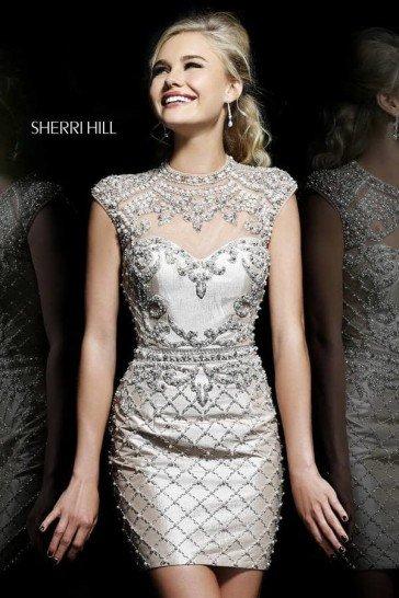 Блестящее выпускное платье Sherri Hill.