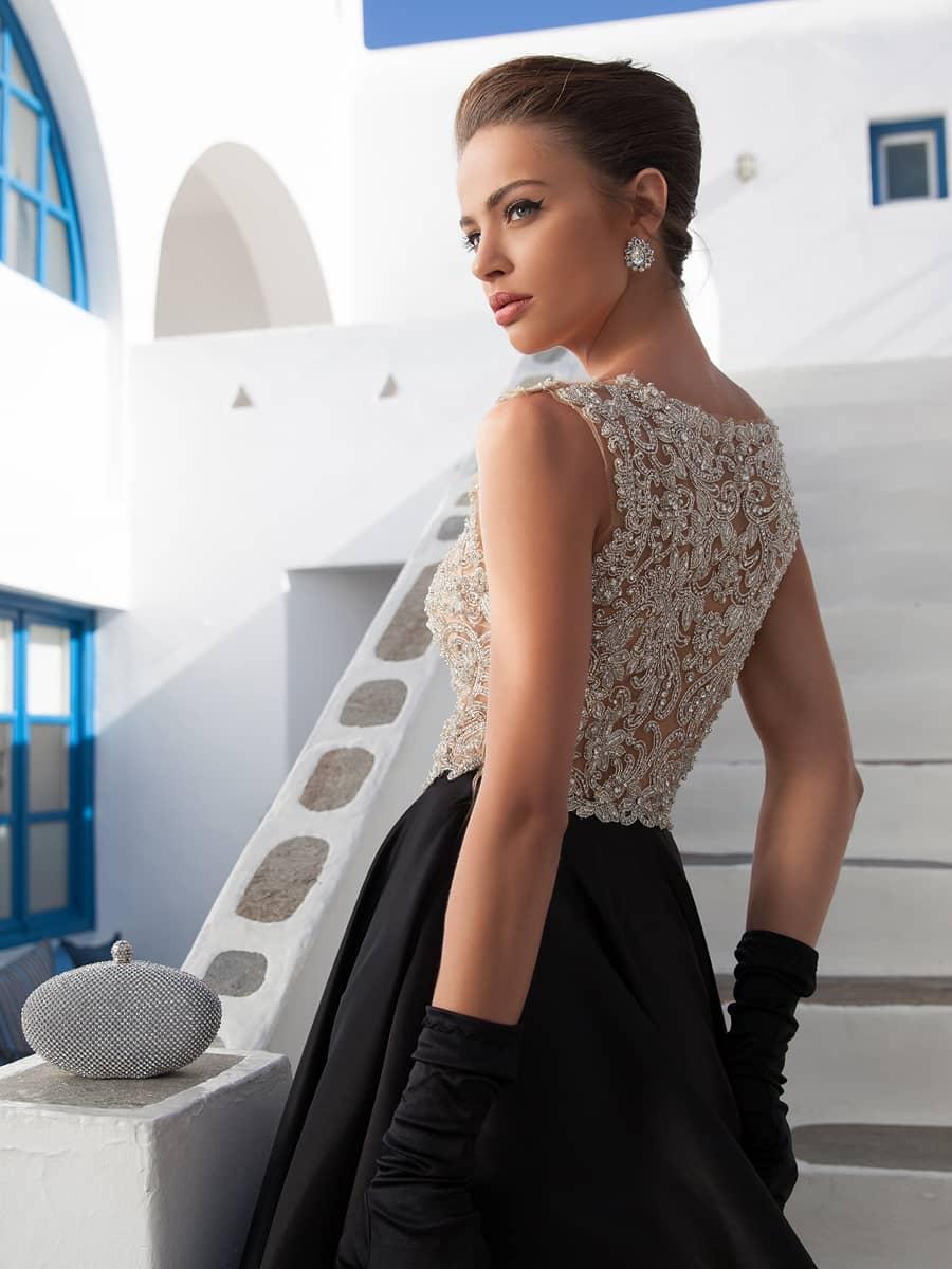 Платье вечернее белый верх