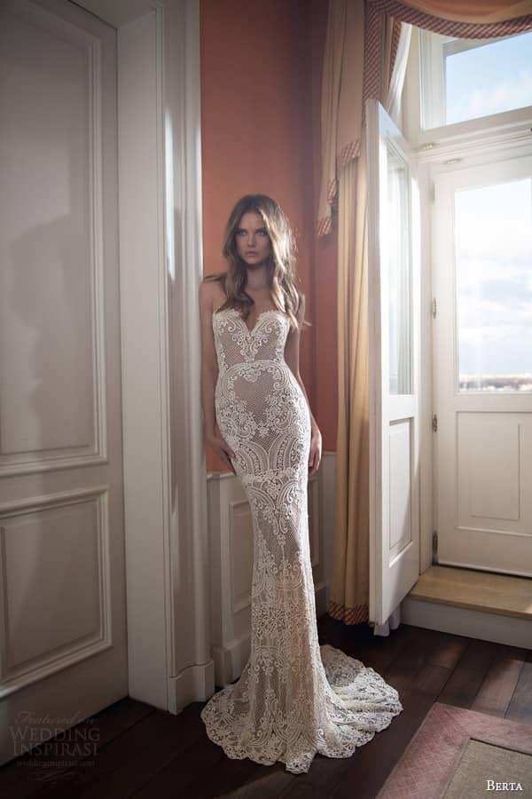 Свадебные платья берта