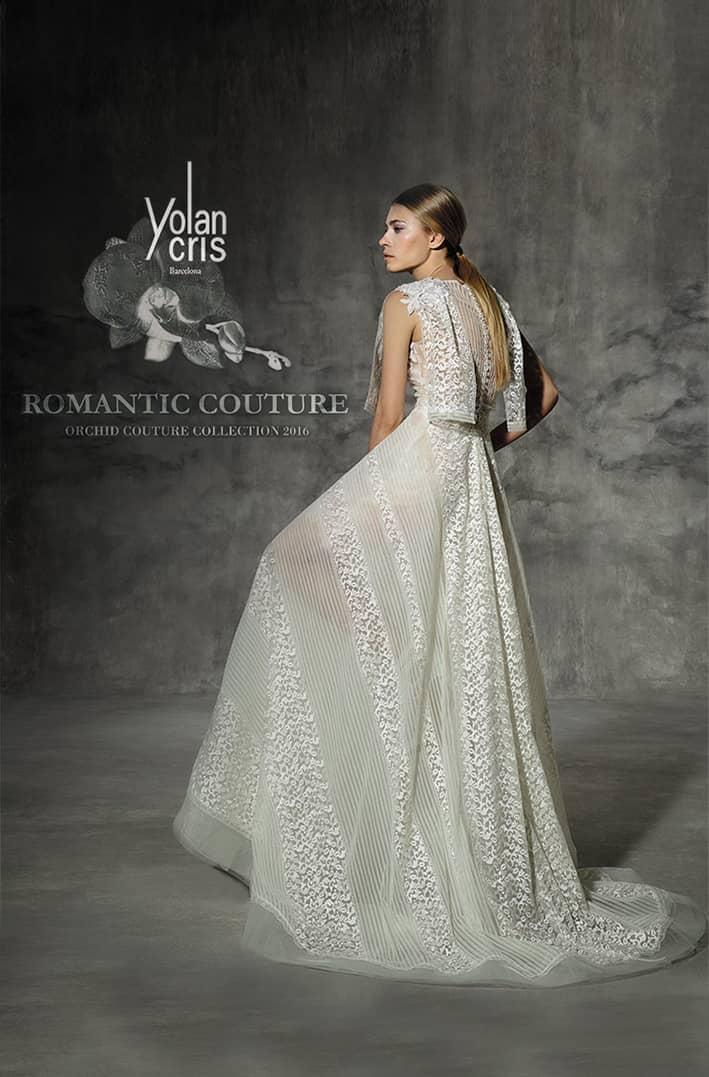 ca0653ee2f5 Orchid  Коллекция свадебных платьев YolanCris 2016