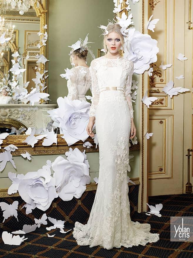 Стильное свадебное платье YolanCris.