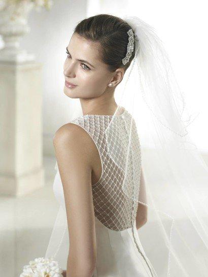 Шелковое свадебное платье русалка.
