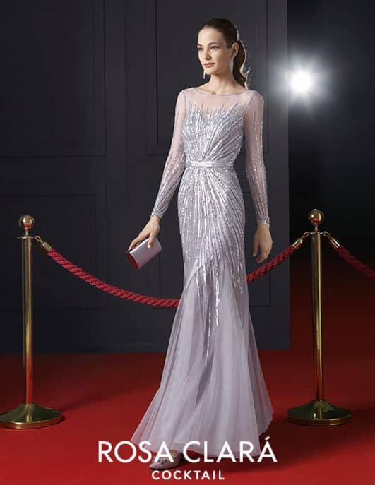 f6c52e9523c923f Не менее потрясающие платья есть и в коллекции вечерних и коктейльных  нарядов Rosa Clara. К примеру, модель 8T229, выполненная из тюля и стразов.