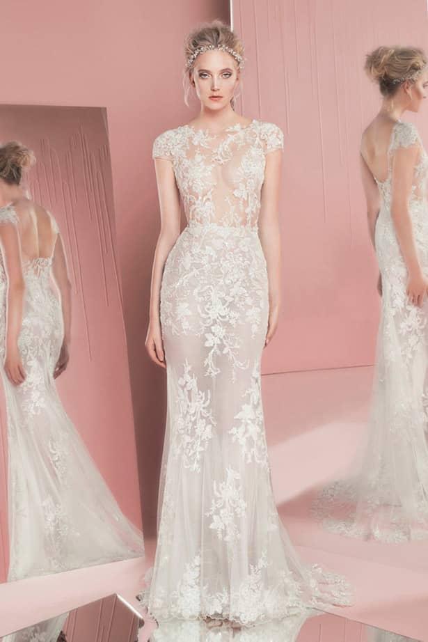 98ed6ffa541 Более сдержанно и скромно смотрятся свадебные платья в таком стиле