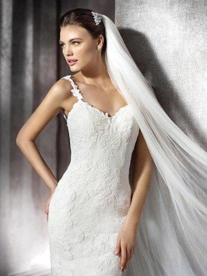 Свадебное платье фасона рыбка.