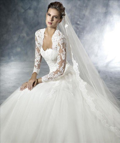 Роскошное свадебное платье JAFIT от White One 2016.
