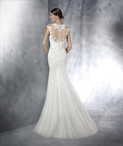 Платье свадебное русалка.