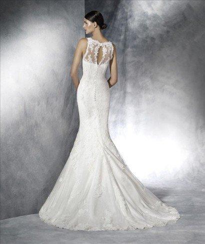 Классическое свадебное платье рыбка.