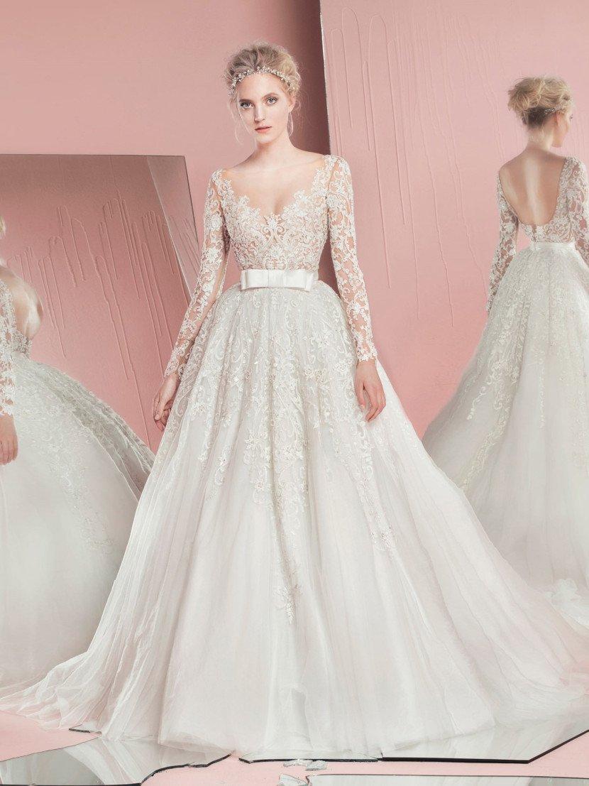 Роскошное свадебное платье-трансформер.