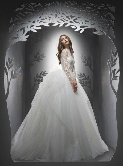 Свадебное красивое платье-трансформер.