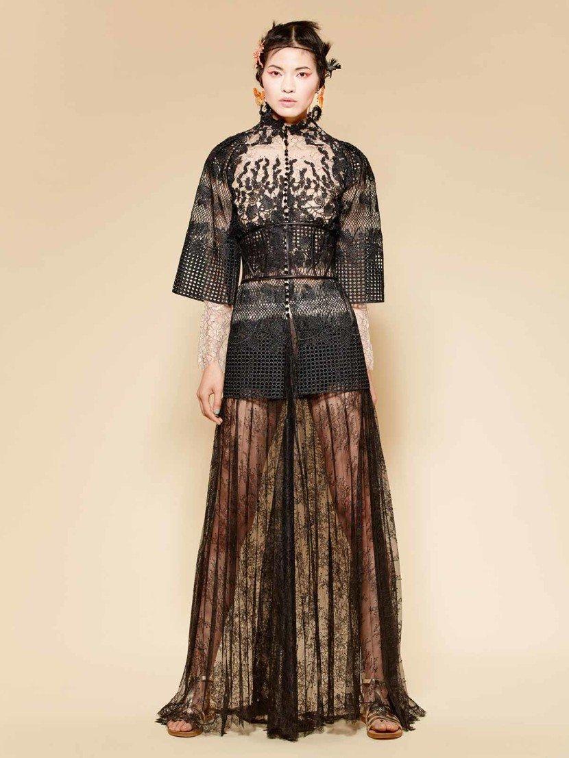 Вечерние платья кимоно