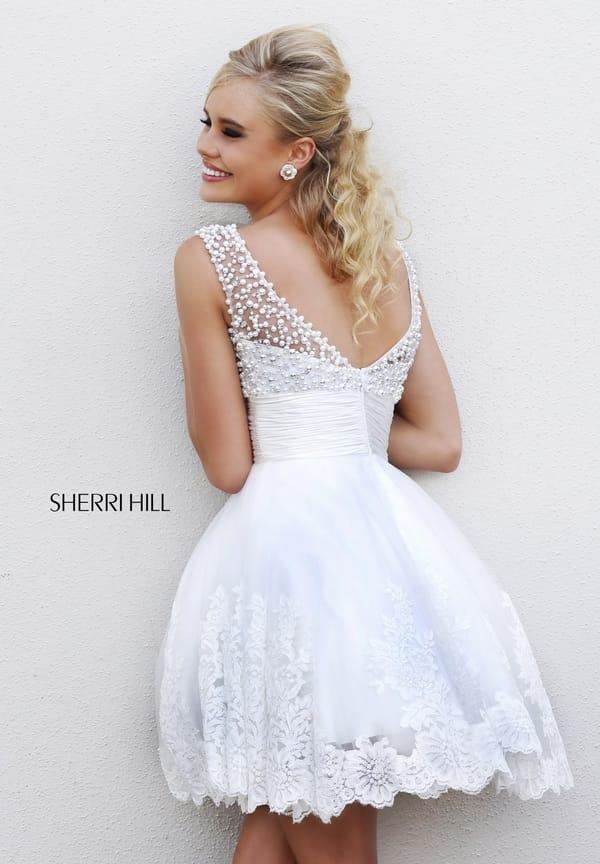 Белое Короткое Вечернее Платье Купить