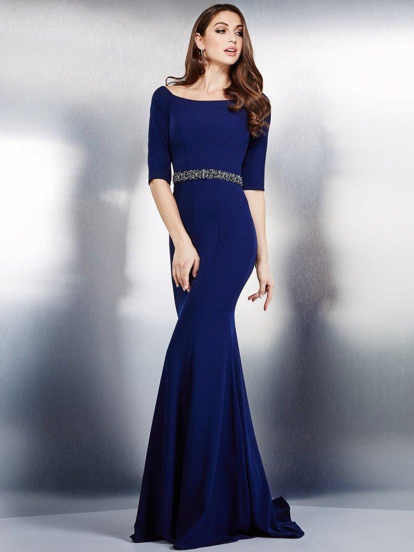 Изысканное вечернее платье для торжественных случаев.