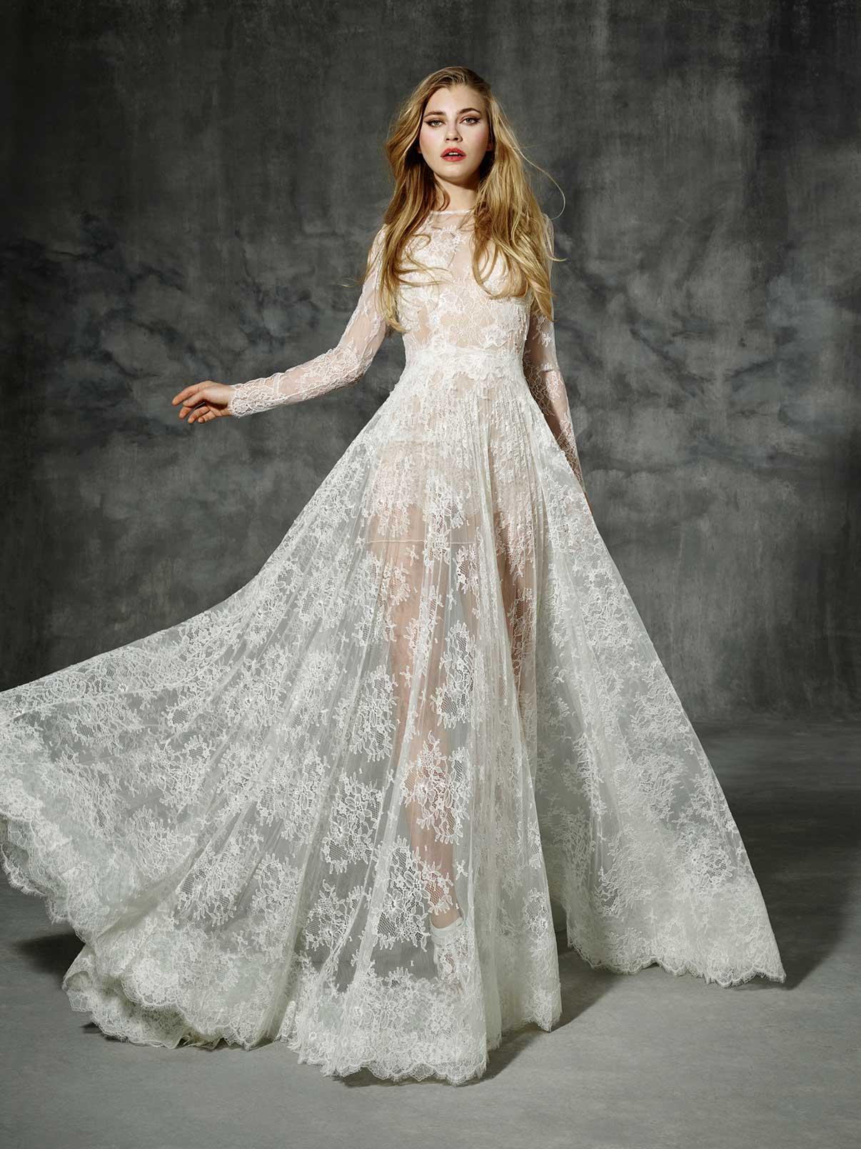 Свадебное платье из кожи