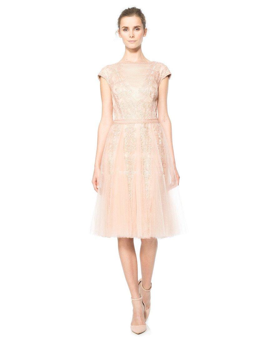 Романтичное коктейльное платье.