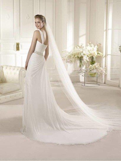 Стильное свадебное платье в греческом стиле