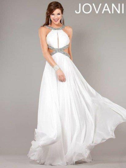 Уникальное длинное вечернее платье из шёлкового трикотажа.