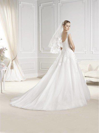 Свадебное платье на бретелях Enelsa от La Sposa.