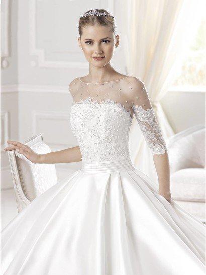 Свадебное платье А-силуэта Erun от La Sposa.