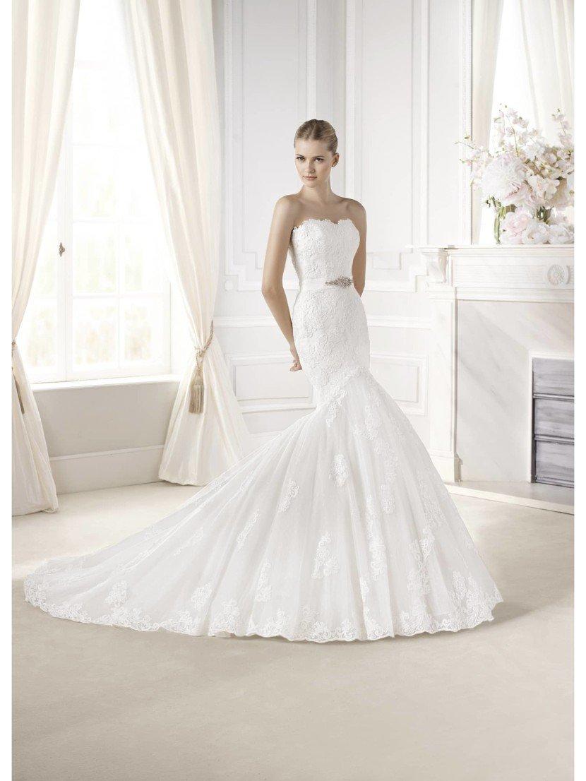 Свадебное платье силуэта русалка Evante от La Sposa.