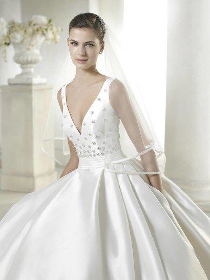 Пышное свадебное платье Safara от San Patrick в салоне Виктория! ✆ +7 495 6276242