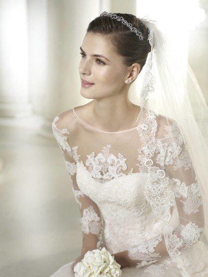 Свадебное платье А-силуэта Seattle от San Patrick.