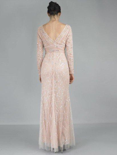 Романтичное вечернее платье в стиле ампир.