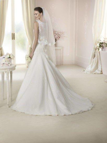 Свадебное платье на бретелях DATIVA от White One.