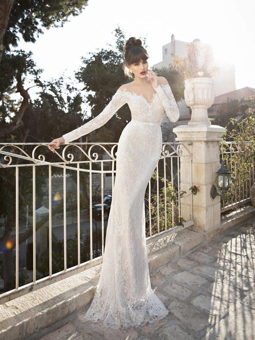 Кружевное свадебное платье Berta Bridal 1441.