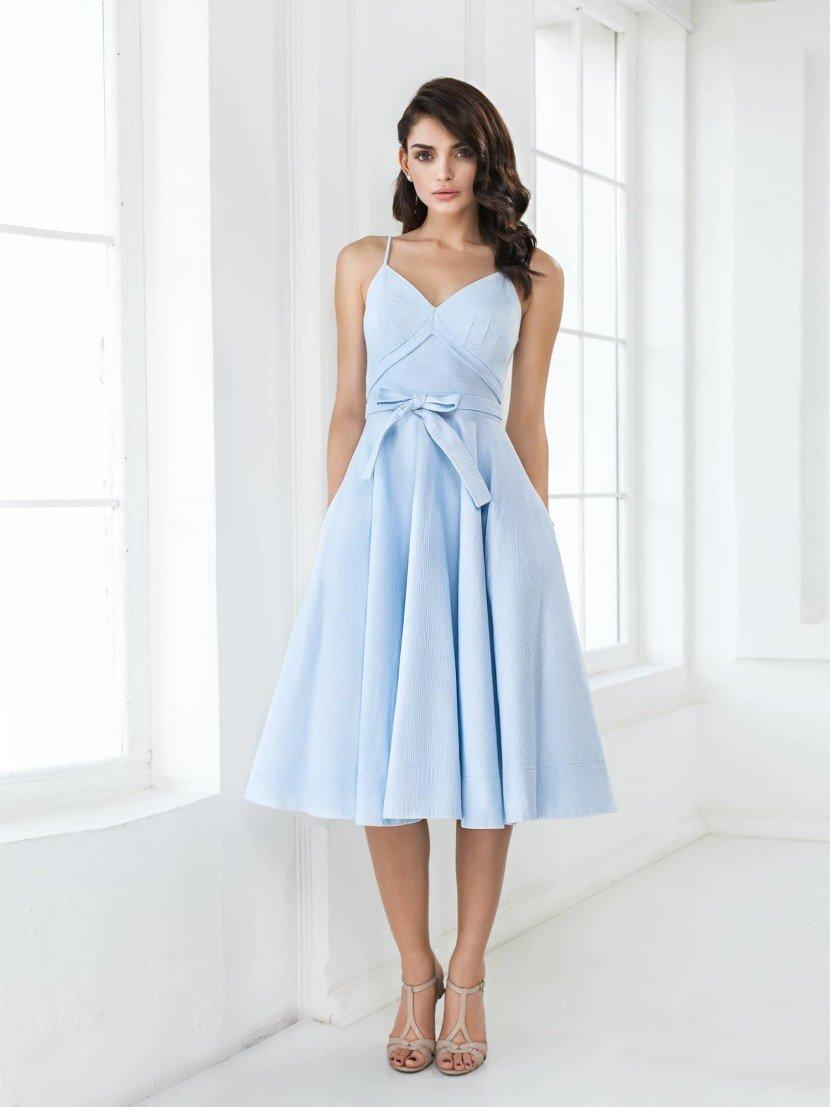 f8df65eac3c Вечерние платья миди длины –оригинальное решение для выпускного бала. Такая  юбка смотрится очень стильно и женственно