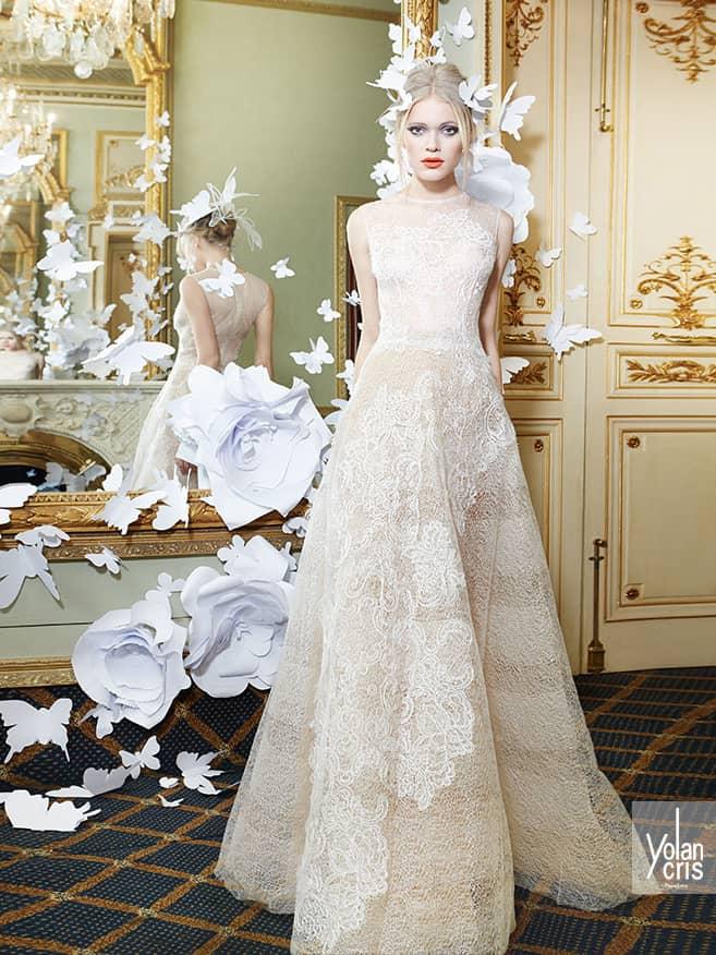 Эксклюзивное свадебное платье.