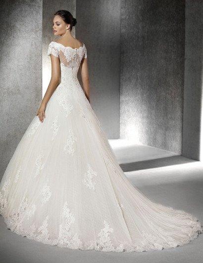 Свадебное платье А-силуэта Sophie от San Patrick.