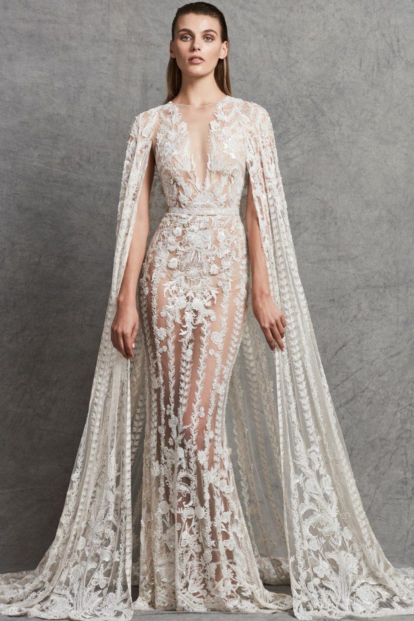 3216aab67d7 Свадебные платья Zuhair Murad 2018